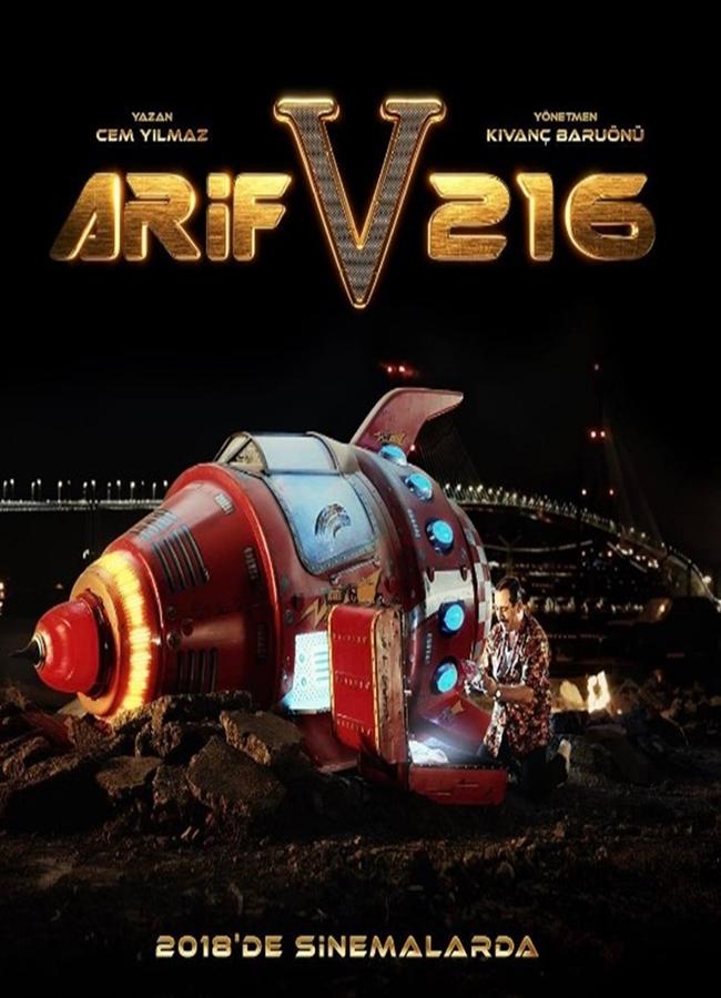 Arif V 216 (2018) Yerli Film Full HD İndir