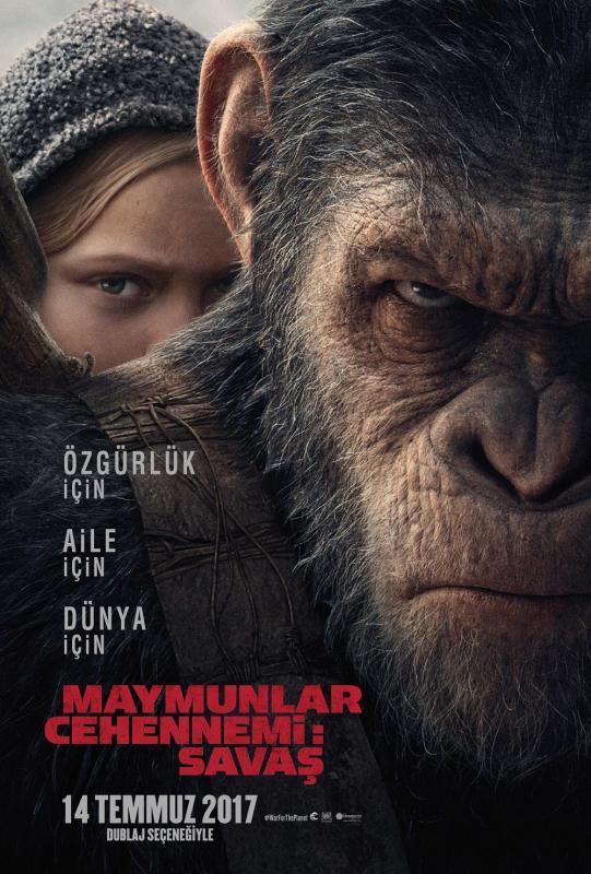 Maymunlar Cehennemi:Savaş