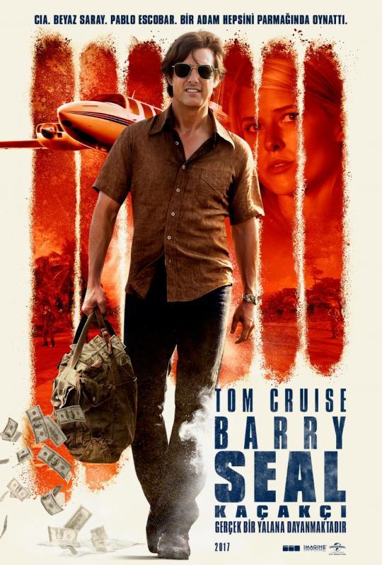 Barry Seal: Kaçakçı (2017) Türkçe Dublaj m1080p Bluray Torrent İndir