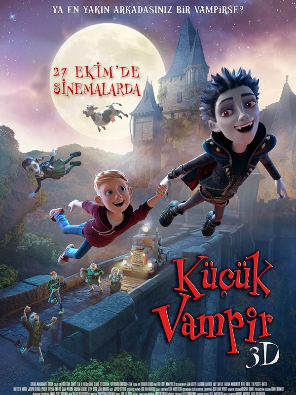 Küçük Vampir - The Little Vampire (2017) Türkçe Dublaj m1080p Torrent İndir