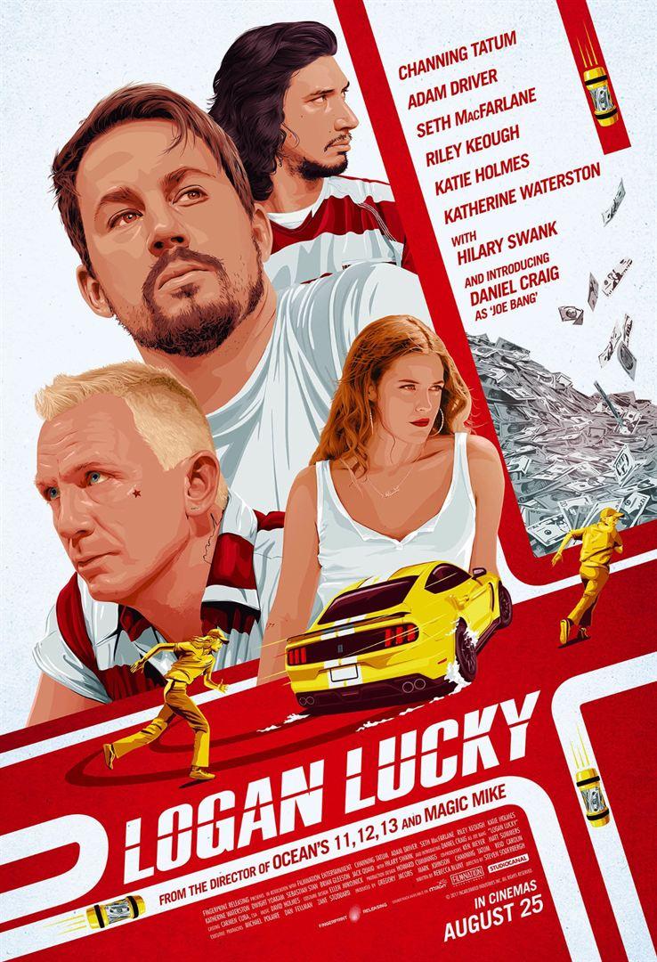 Şanslı Logan - Logan Lucky (2017) Türkçe Dublaj 720p Torrent indir