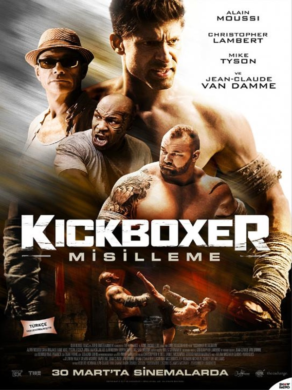 Kickboxer: Misilleme - Kickboxer: Retaliation (2018) Türkçe Dublaj BRRip Torrent İndir