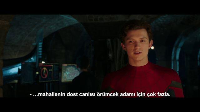 Örümcek-Adam: Evden Uzakta Altyazılı Teaser (2)