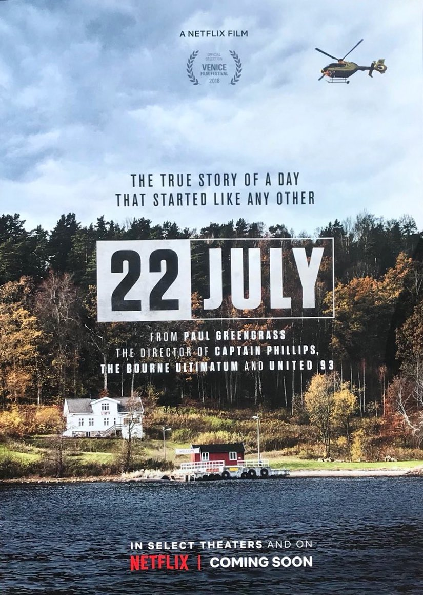 """2011 Norveç Saldırılarını Konu Alan """"22 July""""dan İlk Fragman Geldi!"""
