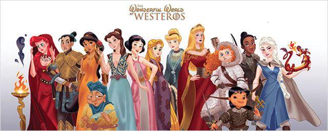 Disney'in Prensesleri Game of Thrones Dünyasında!