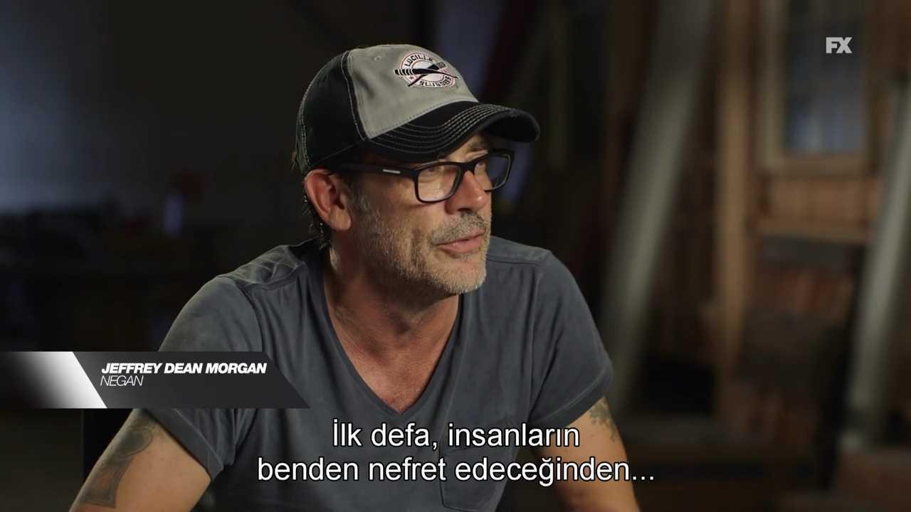The Walking Dead 7 Sezon Jeffrey Dean Morgan Negan Video The