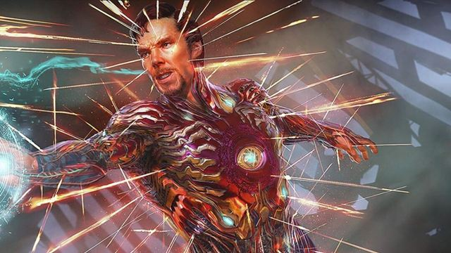 Avengers: Sonsuzluk Savaşı'nda Doctor Strange, Iron Man Kostümü Giymiş!