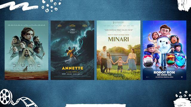 """Vizyondaki Filmler; """"Dune"""", """"Minari"""", """"Annette"""""""