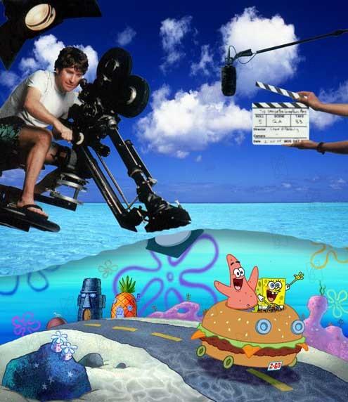 Stephen Hillenburg Resimleri Sunger Bob Kare Pantolon Fotograf