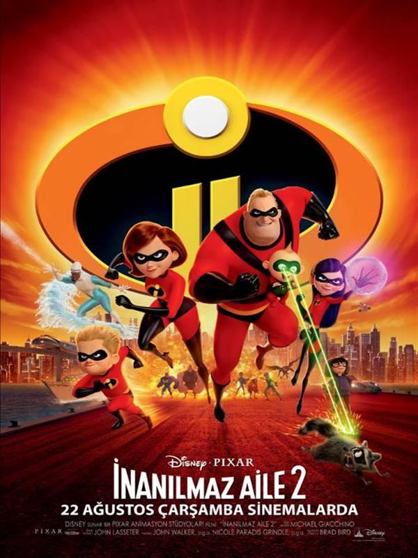 Incredibles 2 – inanılmaz Aile 2 – 2018 Altyazılı indir
