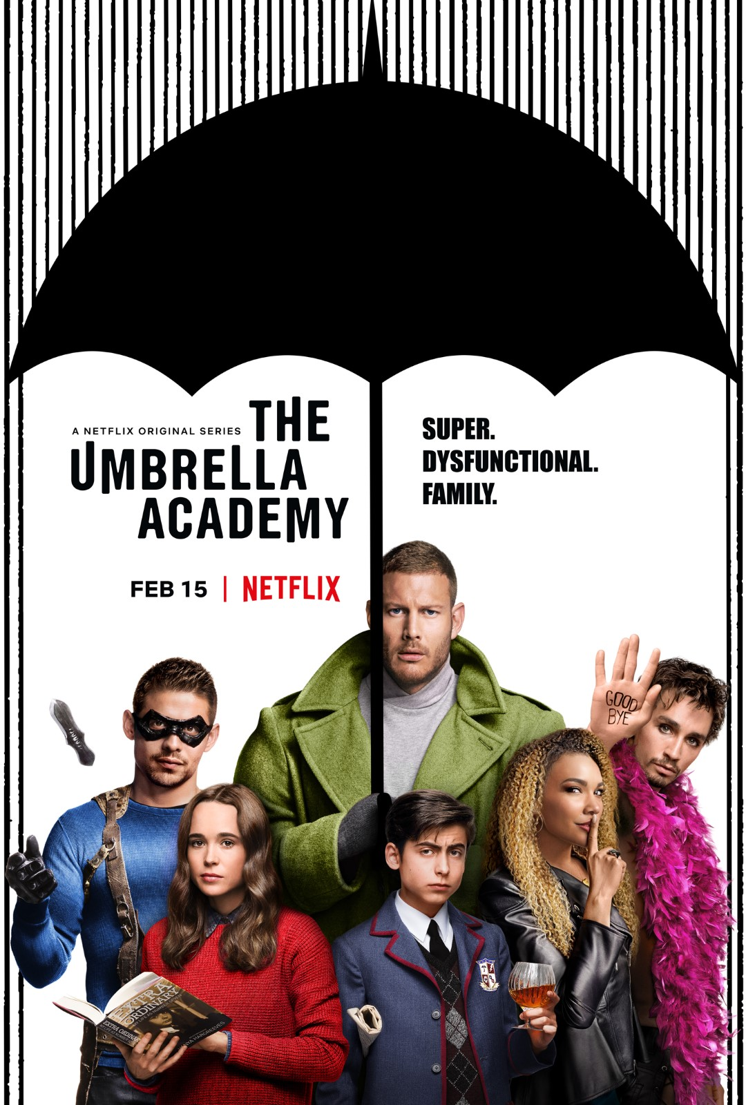 The Umbrella Academy postere - 14 görselden 2. sıradaki - Beyazperde.com