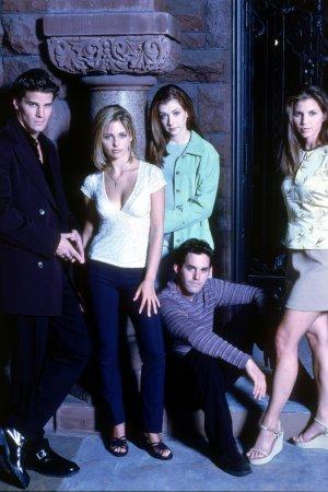 Buffy, the Vampire Slayer : Fotograf Alyson Hannigan, Charisma Carpenter, David Boreanaz, Nicholas Brendon, Sarah Michelle Gellar