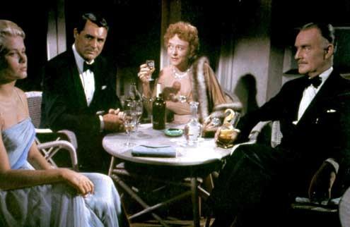 To Catch A Thief : Fotograf Cary Grant, Grace Kelly, Jessie Royce Landis, John Williams