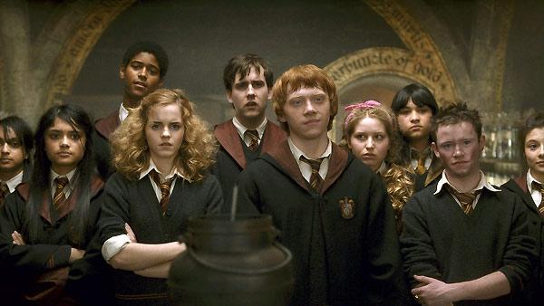 Harry Potter ve Melez Prens : Fotograf Afshan Azad, Alfred Enoch, Devon Murray, Emma Watson, Jessie Cave
