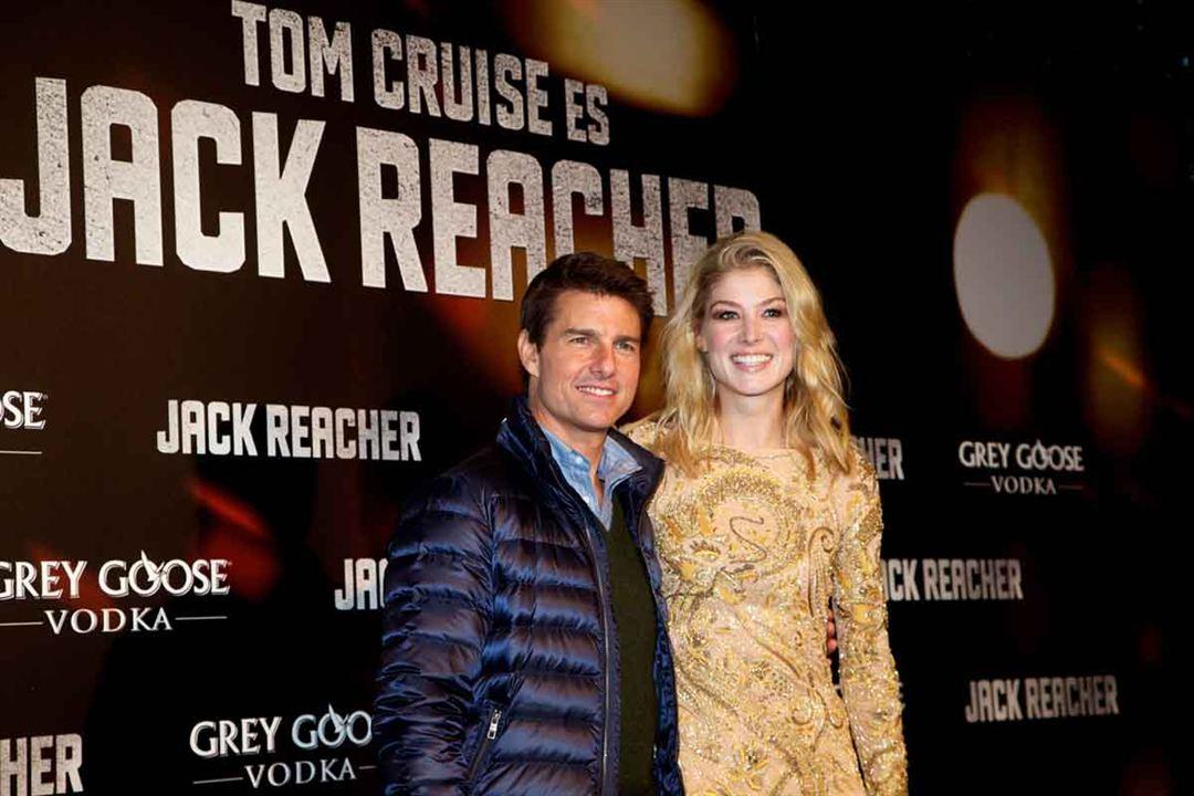 Jack Reacher : Vignette (magazine) Rosamund Pike, Tom Cruise