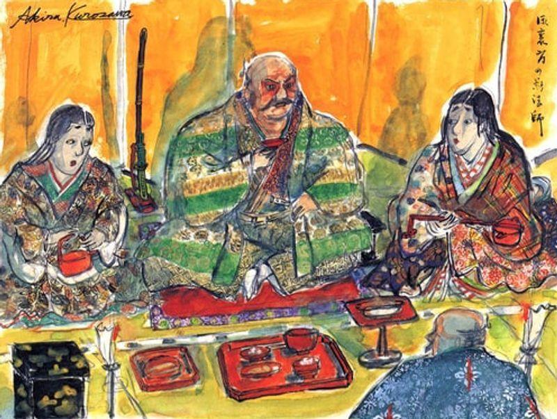 Akira Kurosawa'nın El Çizimi Storyboard Örnekleri