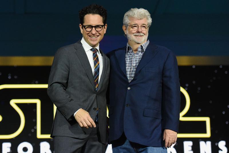 Star Wars: Güç Uyaniyor : Vignette (magazine) George Lucas, J.J. Abrams