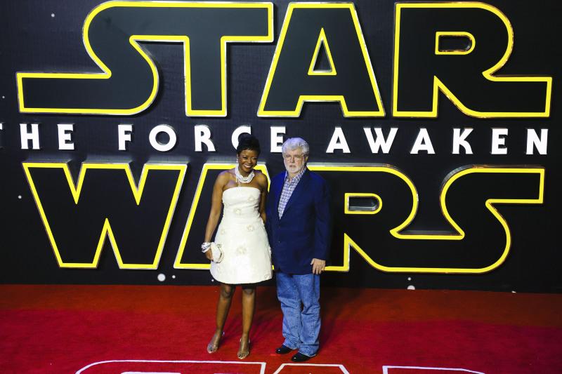 Star Wars: Güç Uyaniyor : Vignette (magazine) George Lucas
