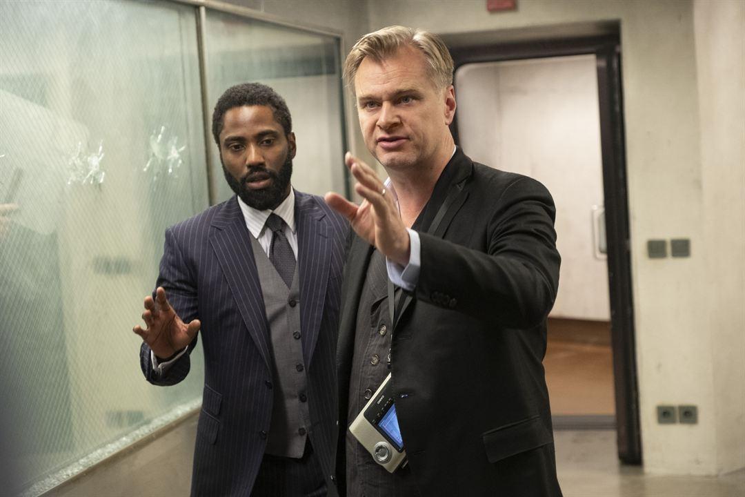 Tenet: Christopher Nolan, John David Washington