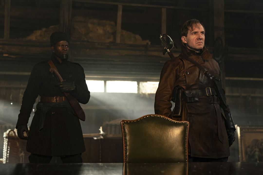 The King's Man: Başlangıç: Djimon Hounsou, Ralph Fiennes