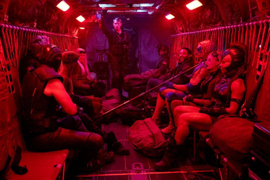 The Suicide Squad: Intihar Timi : Fotograf Flula Borg, Jai Courtney, Joel Kinnaman, Margot Robbie, Mayling Ng