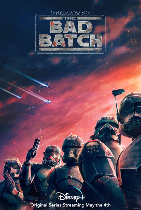 Star Wars: The Bad Batch : Afis