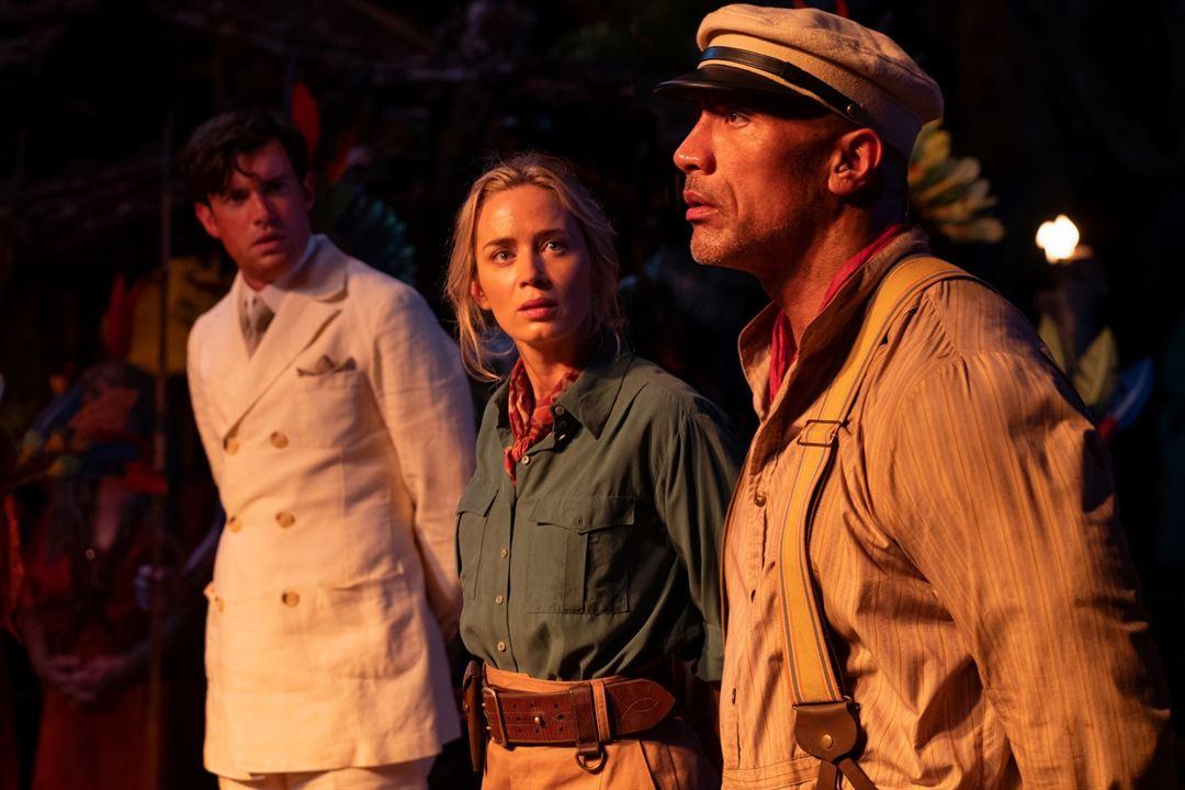 Jungle Cruise : Fotograf Dwayne Johnson, Emily Blunt, Jack Whitehall